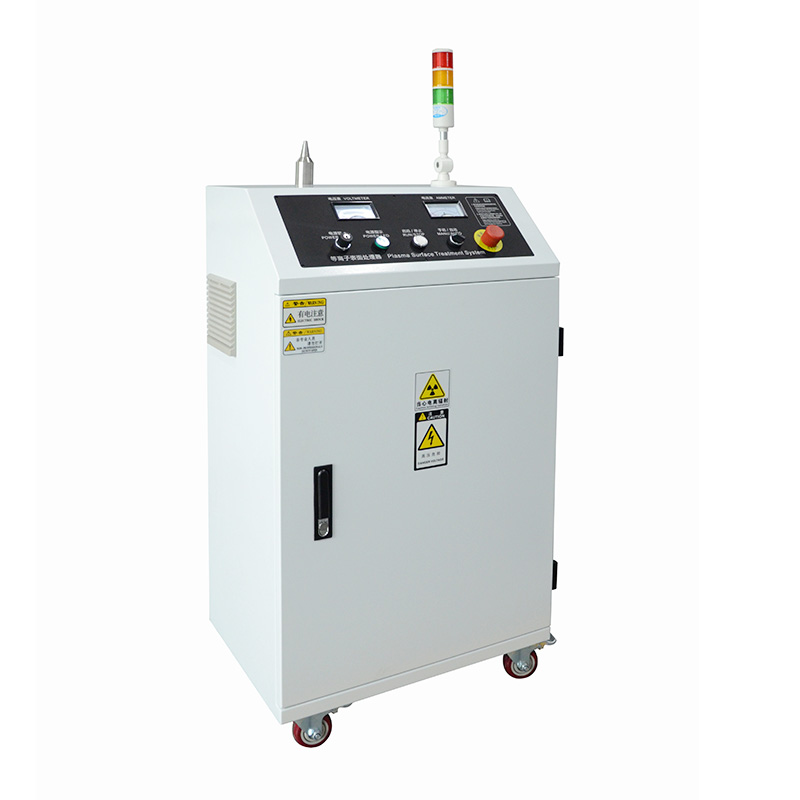 Plasma treatment surface machine